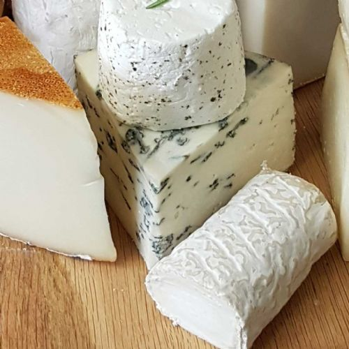 Mrs Bells Blue Cheese, British Blue Ewe's milk cheese